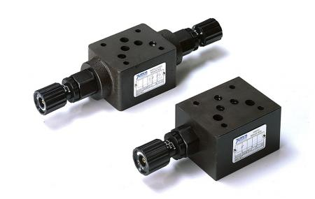 Modulární regulační ventily průtoku - Modulární regulační ventil průtoku zásobníku NG6 Cetop-3 D03.