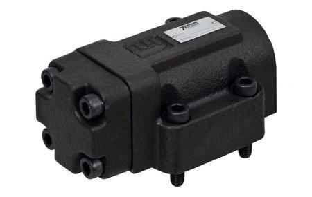 Válvulas piloto / mecánicas / manuales - Válvula de retención operada por piloto.