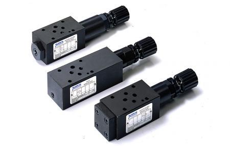 Modulární tlakové regulační ventily - Modulární regulační ventil tlaku NG6 Cetop-3 D03.