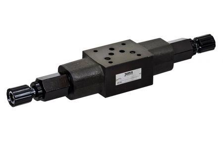 Modułowy zawór ciśnieniowy hamulca - NG10 / Cetop-5 / D053 Modułowy zawór hamulcowy ciśnieniowy stosu.
