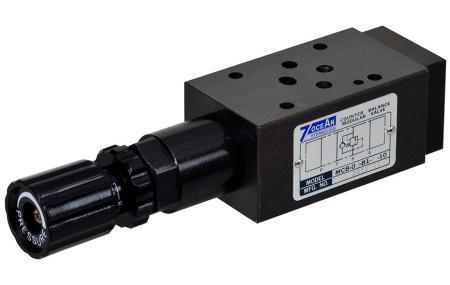 Modulární protizávaží ventil - Modulární vyvažovací ventil NG6 / Cetop-3 / D03.