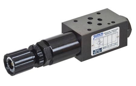 Modułowy zawór redukcyjny ciśnienia - NG6 / Cetop-3 / D03 Modułowy zawór redukcyjny ciśnienia w stosie.
