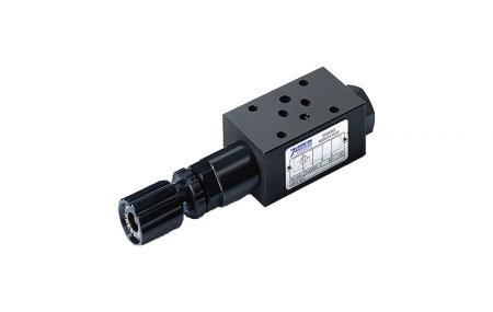 Modułowy zawór sekwencyjny ciśnienia - NG6 / Cetop-3 / D03 Modułowy zawór sekwencyjny ciśnienia w stosie.