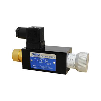 Hydraulický tlakový spínač