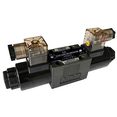 Elektromagnetické směrové regulační ventily
