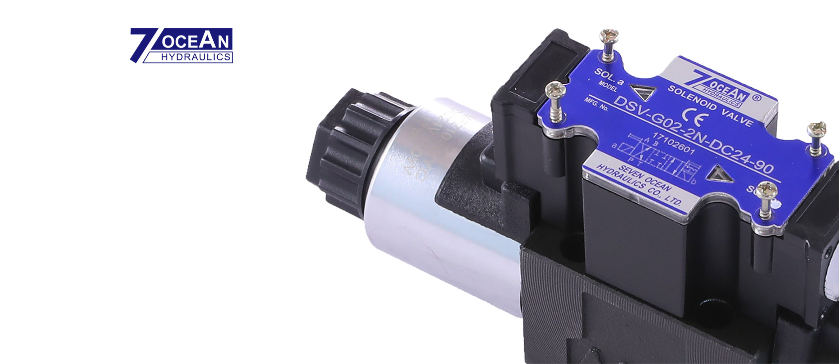 Elektromagnetické ventily       od společnosti Seven Ocean       Hydraulics