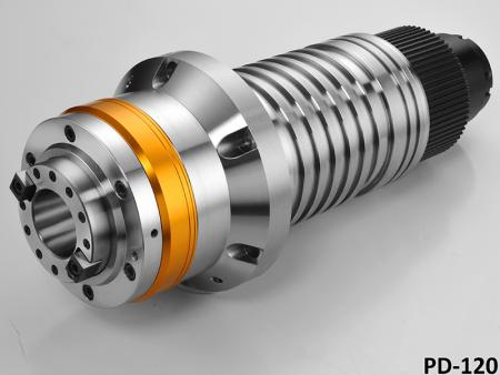 Pulley Driven Spindle with Housing Diameter 120 - Pulley Driven Spindle with Housing diameter 120.