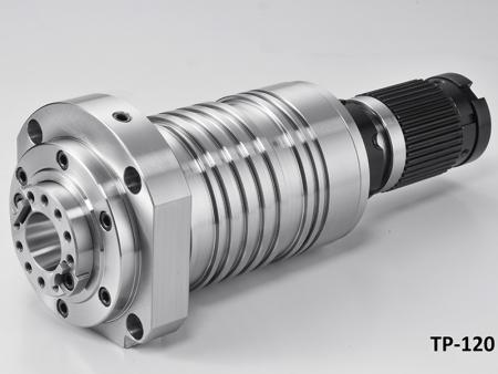 Tapping Center Spindle with Housing Diameter 120 - Tapping Center Pulley Driven Spindle with Housing diameter 120.