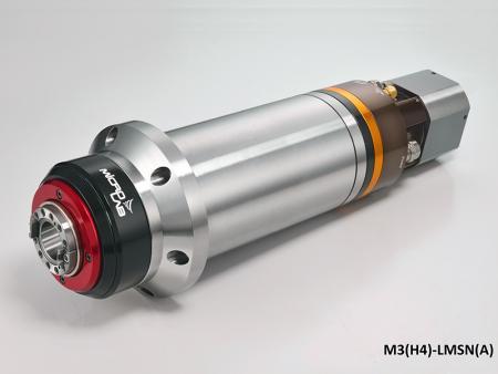 Broche haute vitesse à moteur intégré avec boîtier diamètre 120 - Broche haute vitesse à moteur intégré avec boîtier d'un diamètre de 120.