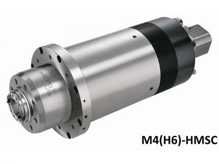 #40 Mandrino incorporato - Mandrino ad alta velocità con motore incorporato con diametro dell'alloggiamento 210.