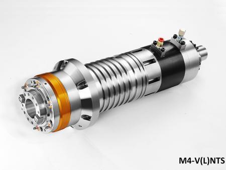 Mandrino centrale di lavoro a trasmissione diretta con diametro dell'alloggiamento 120 - Mandrino Direct Drive con alloggiamento diametro 120. max. velocità: 12.000 ~ 15.000 giri/min
