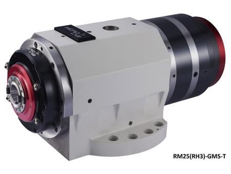 #25 Multi-Machining Rotary Spindle - #25 Rotary Spindle Head, Max. speed: 10,000 ~ 15,000rpm