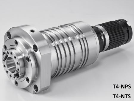 Broche centrale de taraudage avec boîtier diamètre 120 - Broche centrale de taraudage avec boîtier diamètre 120. Max. vitesse: 10 000 ~ 12 000 tr/min