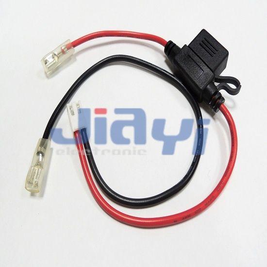 Arnés de cableado de caja de fusibles sobremoldeado para automóvil - Arnés de cableado de caja de fusibles sobremoldeado para automóvil
