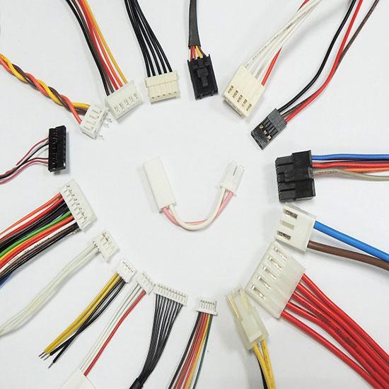 Faisceau de câbles JST et Molex