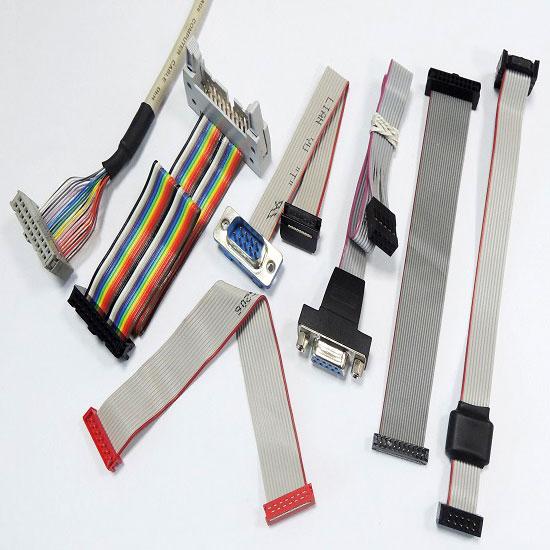 Conjunto de cabo de fita plana
