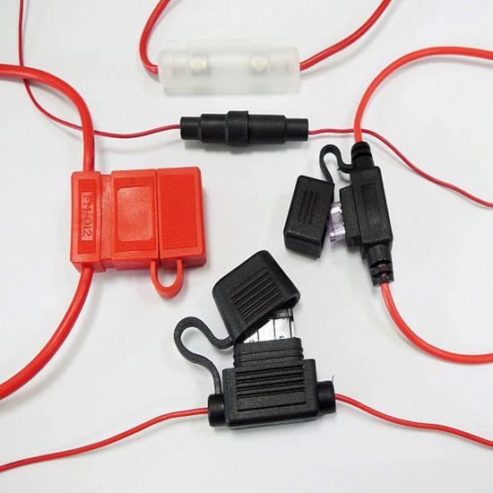 Chicote de fios porta-fusíveis