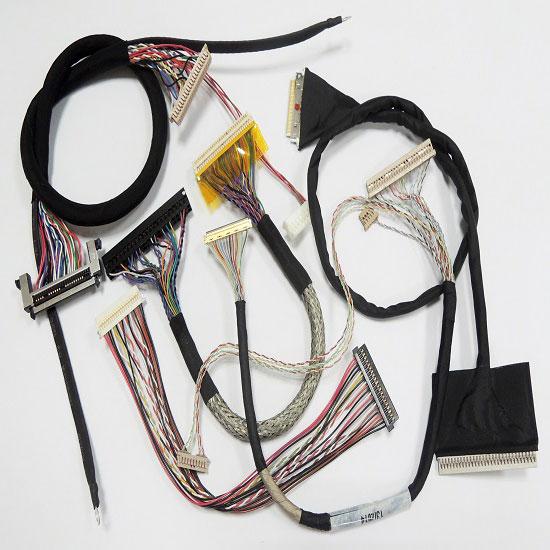 LVDS, LCD, arnés de cables IPEX