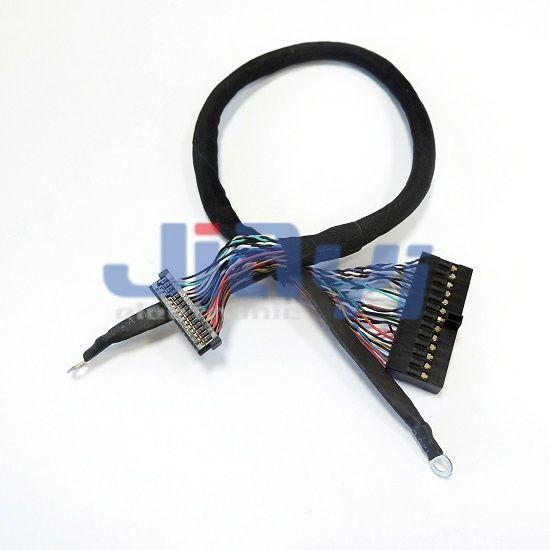 Arnés de cables JAE FI-W LVDS y LCD - Arnés de cables JAE FI-W LVDS y LCD