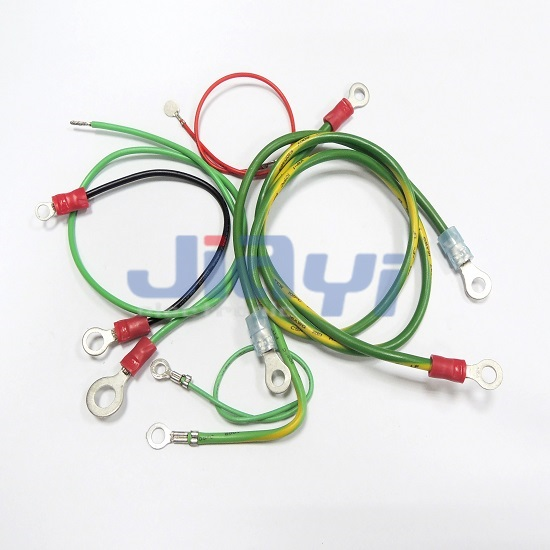 Жгут проводов с кольцевым зажимом - Жгут проводов с кольцевым зажимом