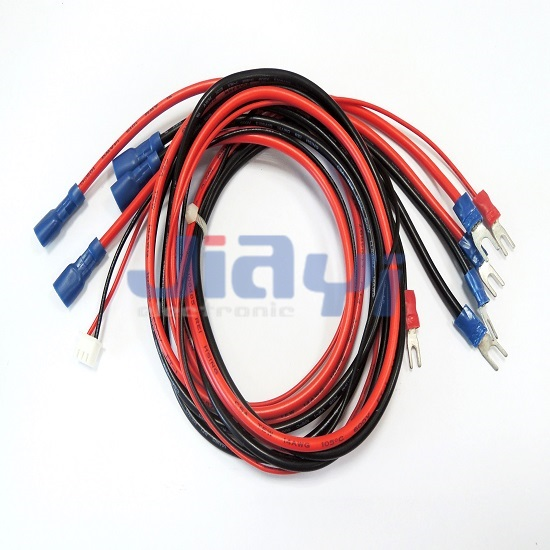Wire Assembly with PVC Insulated Fork Terminal - Wire Assembly with PVC Insulated Fork Terminal