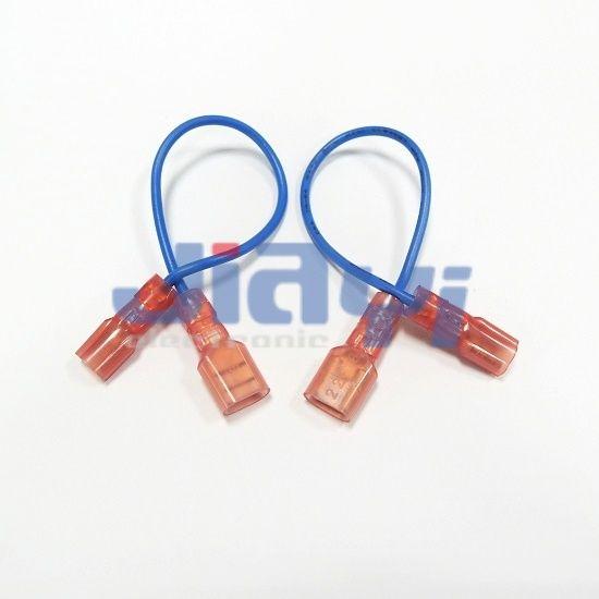250 Type Nylon Insulated Female Terminal Wiring Harness - 250 Nylon Insulated Female Terminal Wiring Harness