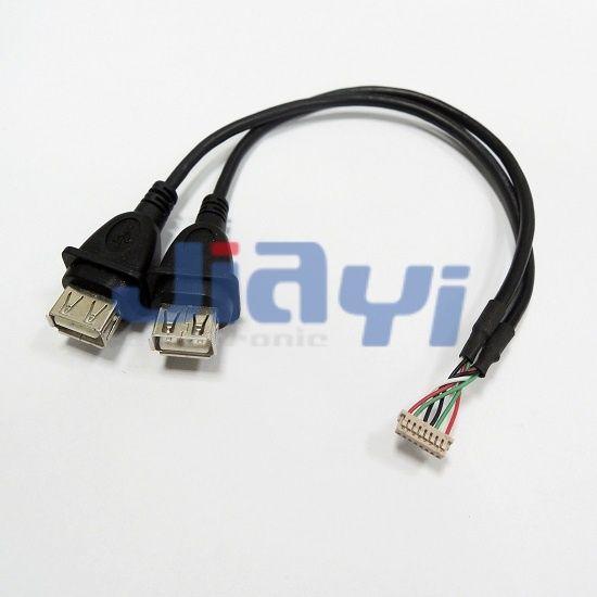 USB 2.0 A-Kabelbuchse - USB 2.0 A-Kabelbuchse