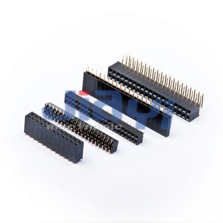 Conector de cabeçote fêmea de 2,54 mm de passo - Conector de cabeçote fêmea de 2,54 mm de passo