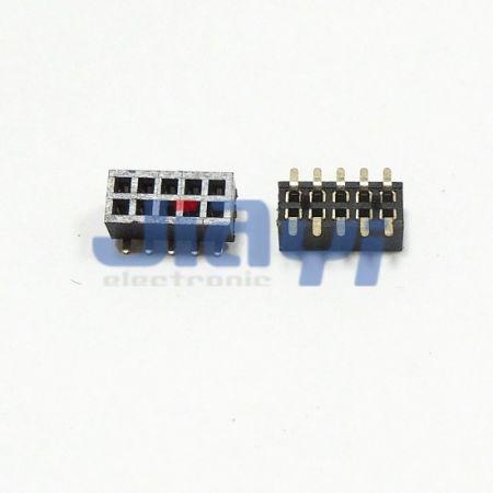 Conector de cabeçote fêmea de 1,27 mm de pitch - Conector de cabeçote fêmea de 1,27 mm de pitch