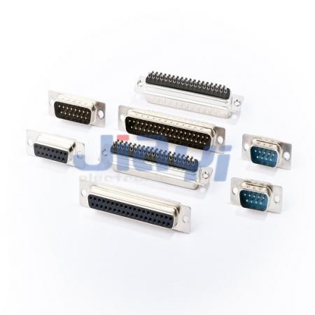 Conector de tipo de solda D-SUB (pino estampado) - Conector de tipo de solda D-SUB (pino estampado)