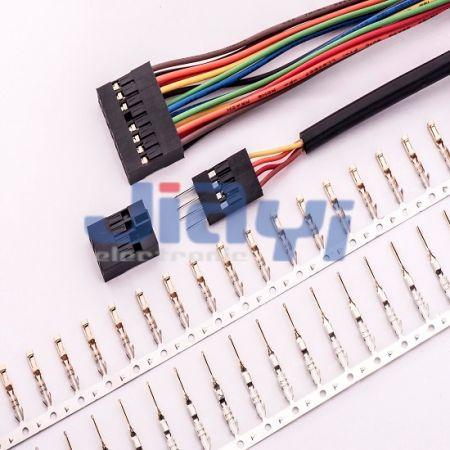 Passo 2,54 mm Dupont Fio para Conector de Placa - Passo 2,54 mm Dupont Fio para Conector de Placa