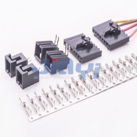 Pitch 2,54 mm Molex 70066 fio para conector de placa - Pitch 2,54 mm Molex 70066 fio para conector de placa