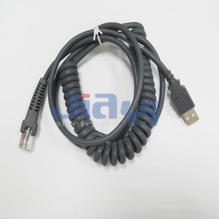 Spiral Coil Cable Assembly