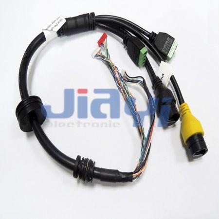 Ensamblaje de cables de solución personalizada - Ensamblaje de cables de solución personalizada