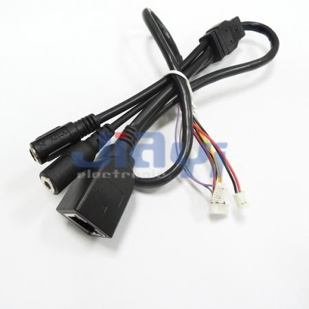 Ensamblaje de cable sobremoldeado personalizado - Ensamblaje de cable sobremoldeado personalizado
