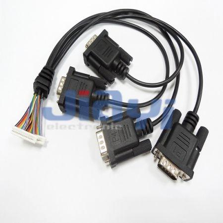 Conjunto de cabo do conector DB - Conjunto de cabo do conector DB