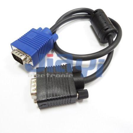 Conjunto de cabo do monitor VGA - Conjunto de cabo do monitor VGA