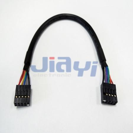 Dupont 2.54mm Pitch Dual Row Connector Wire Harness - Dupont 2.54mm Pitch Dual Row Connector Wire Harness
