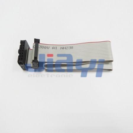 Passo 2.54 mm Conjunto de cabo de fita IDC - Passo 2.54 mm Conjunto de cabo de fita IDC