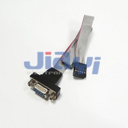 Conjunto de cabo plano de fita com conector D-SUB - Conjunto de cabo plano de fita com conector D-SUB