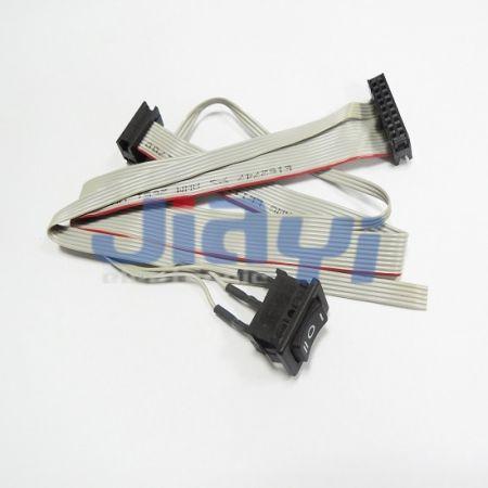 Сборка ленточного кабеля нестандартной конструкции - Сборка ленточного кабеля нестандартной конструкции