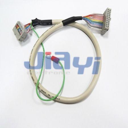 Изготовленный на заказ круглый кабель с разъемом IDC - Изготовленный на заказ круглый кабель с разъемом IDC