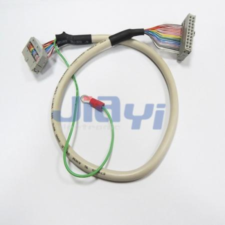 Custom Round Cable Assembly with IDC Socket - Custom Round Cable Assembly with IDC Socket
