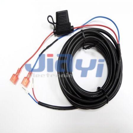 Chicote de fios porta-fusíveis do tipo moldagem - Chicote de fios porta-fusíveis do tipo moldagem