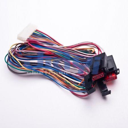 Arnés de cable del portafusibles de la hoja del coche