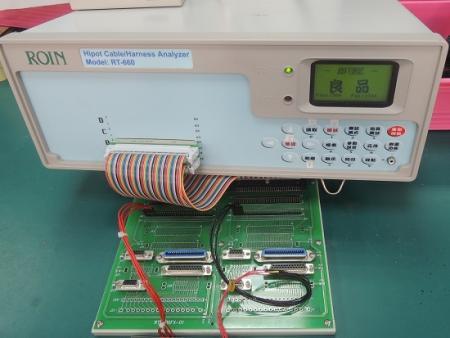 Analyseur de câbles et faisceaux Hipot