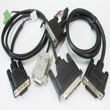 Cabo D-SUB e cabo de computador - Conector DB e conjunto de cabo de computador