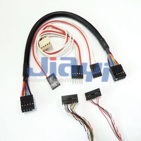 Faisceau de fils de connecteur Dupont - Faisceau de fils de connecteur de fil à carte Dupont