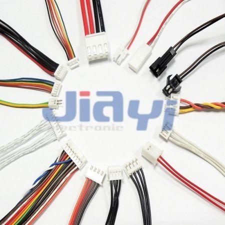Faisceau de fils de connecteur JST - Faisceau de fils de connecteur JST fil à carte et fil à fil