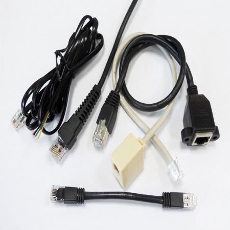 Cabo Lan e cabo Ethernet - Conjunto de cabo modular RJ45